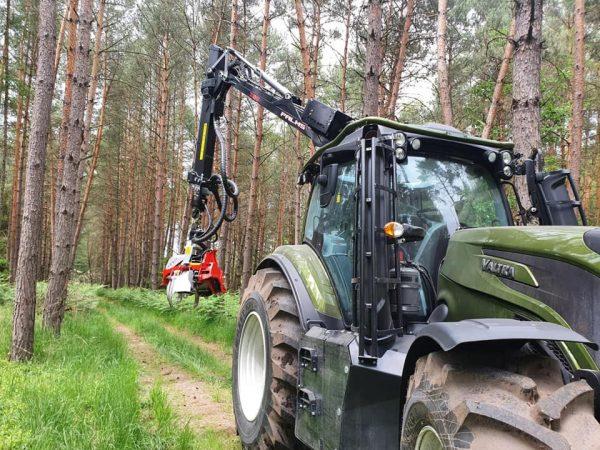 Der Traktor als Harvester