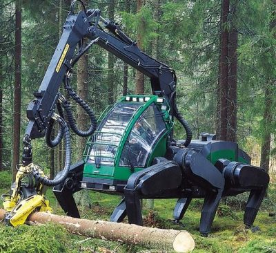 Forest Walking Machine: Gibt es ein Comeback?