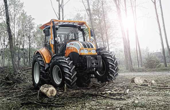 Forsttraktor